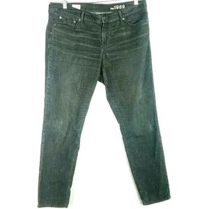 Gap Womens Size 33 Pants Corduroy Always Skinny